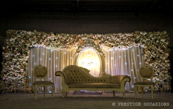 Prestige occasions blog archive asian wedding stages for Asian wedding stage decoration london